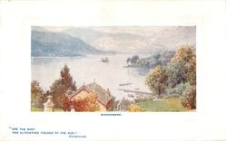 WINDERMERE (FROM BELFIELD HOTEL on back)