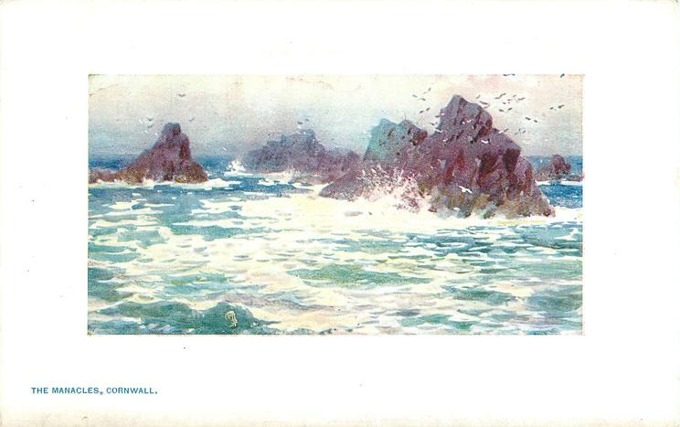 THE MANACLES, CORNWALL