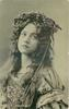 MISS MAUDE FEALY  head & shoulders, facing partly left, looking up & right
