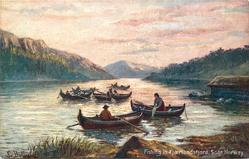 FISHING IN FJAERLANDSFJORD, SOGN