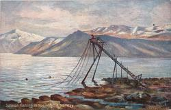 SALMON FISHING IN SOGNEFJORD
