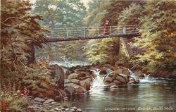 LLANDEWI-R-CWM BRIDGE