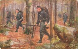 CHASSEURS A PIED