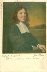 portrait of the artist on English edition