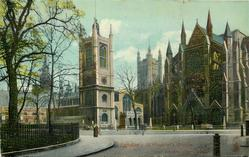 ST MARGARET'S CHURCH AND WESTMINSTER ABBEY