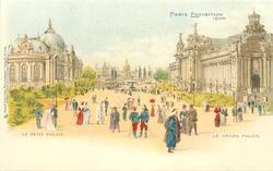 france,  LE PETIT PALAIS, LE GRAND PALAIS
