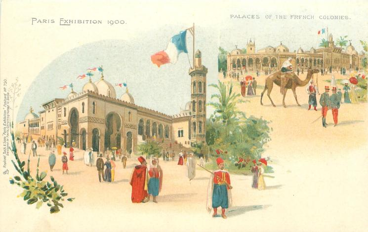 PALACES OF THE FRENCH COLONIES
