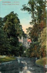 ST. JOHN'S COLLEGE CHAPEL RIVER BEND
