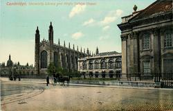 UNIVERSITY LIBRARY AND KING'S COLLEGE CHAPEL