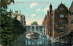 ST. JOHN'S COLLEGE-BRIDGE OF SIGHS