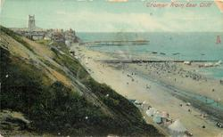 CROMER FROM EAST CLIFF