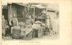 MARCHANDS DE LEGUMES CHINOIS