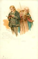 POLONIUS, HAMLET (ACT II) QUE LISEZ-VOUS, SIEINEUR?//CALUMNIE!