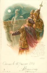 HORATIO, HAMLET (ACT I) TOI QUI VAS USURPANT LES HEURES DU SOMMEIL//T'ADJURE!