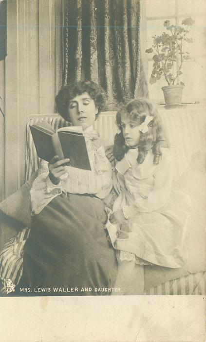 MRS. LEWIS WALLER AND DAUGHTER