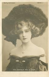 MISS GABRIELLE RAY, AS THISBE