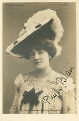 MISS PHYLLIS BLAIR, AS COUNTESS ANSTRUTHER