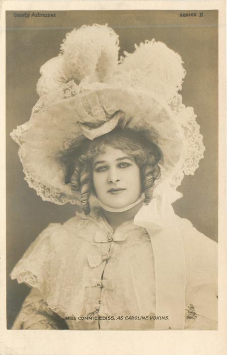 MISS CONNIE EDISS AS CAROLINE VOKINS