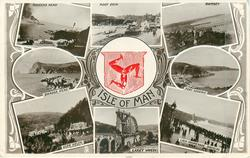 ISLE OF MAN  crest & multiview