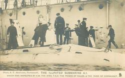 THE ILLFATED SUBMARINE A.1.