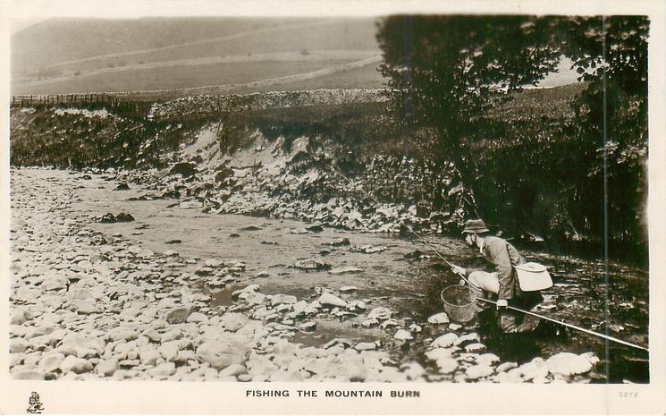 FISHING THE MOUNTAIN BURN