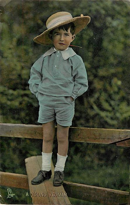 A YOUNG YEOMAN