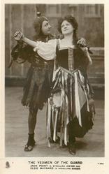 JACK POINT (A STROLLING JESTER) AND ELSIE MAYNARD (A STROLLING SINGER)