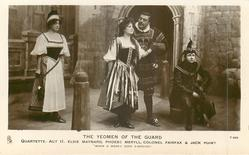"""QUARTETTE. - ACT II. - ELSIE MAYNARD, PHOEBE MERYLL, COLONEL FAIRFAX & JACK POINT, """"WHEN A WOOER GOES A-WOOING"""""""