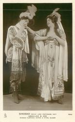 ABDULLAH & ZOE (MISSES FLORENCE WARDE & ETHEL OLIVER)