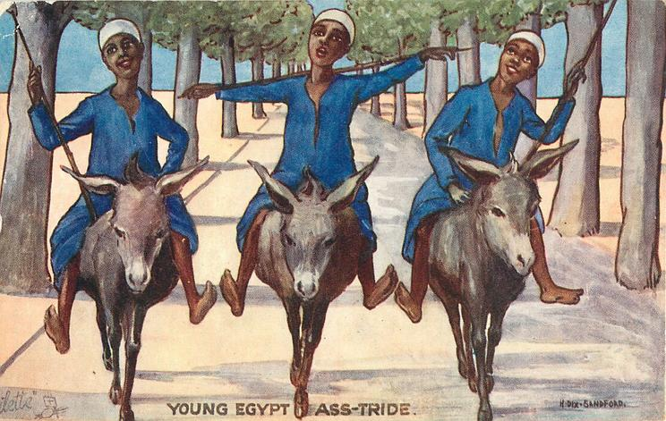YOUNG EGYPT ASS-STRIDE