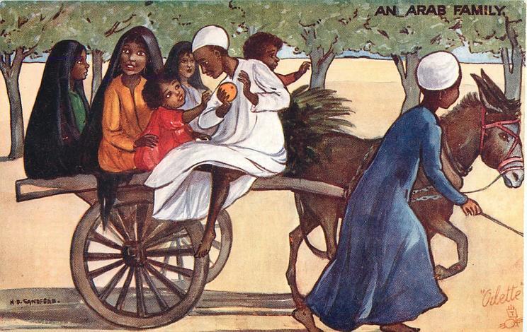 AN ARAB FAMILY