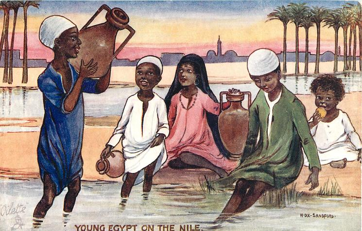YOUNG EGYPT ON THE NILE