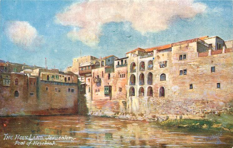 JERUSALEM, POOL OF HEZEKIAH