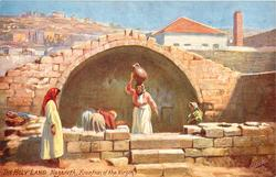 NAZARETH, FOUNTAIN OF THE VIRGIN