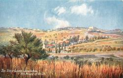 JERUSALEM, THE MOUNT OF OLIVES
