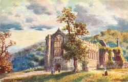 BOLTON ABBEY (general view from front lawn)