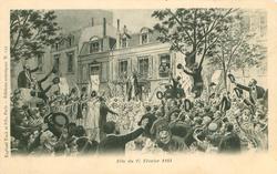 FETE DU FEVRIER 1881