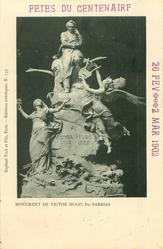 MONUMENT DE VICTOR HUGO, PAR BARRIAS