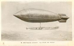 "M. DEUTSCH'S AIRSHIP ""LA VILLE DE PARIS"""