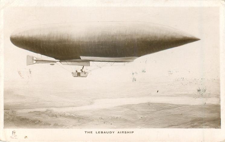 THE LEBAUDY AIRSHIP