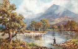 SCHIEHALLION, FROM RIVER TUMMEL