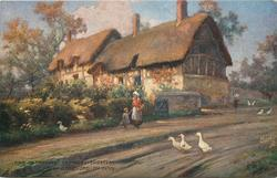 ANNE HATHAWAY'S COTTAGE, SHOTTERY, STRATFORD-ON-AVON