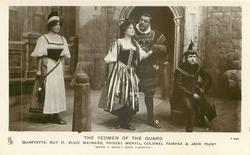 QUARTETTE. -ACT II- ELSIE MAYNARD, PHOEBE MERYLL, COLONEL FAIRFAX & JACK POINT 'WHEN A WOOER GOES A-WOOING