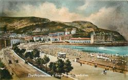 THE PROMENADE AND GREAT ORME.