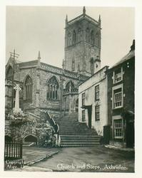 CHURCH AND STEPS