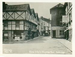 KING JOHN'S HUNTING BOX