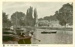ON THE YARE, THORPE, NEAR NORWICH