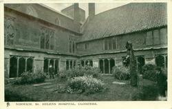 ST. HELENS HOSPITAL, CLOISTERS