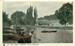 ON THE BURE, THORPE, NEAR NORWICH
