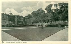 DERBYSHIRE, HADDON HALL